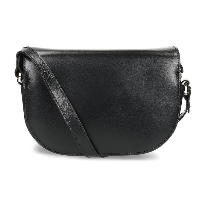 Kožená kabelka s klopou royal-republiq, čierna, 964-6084 - 16