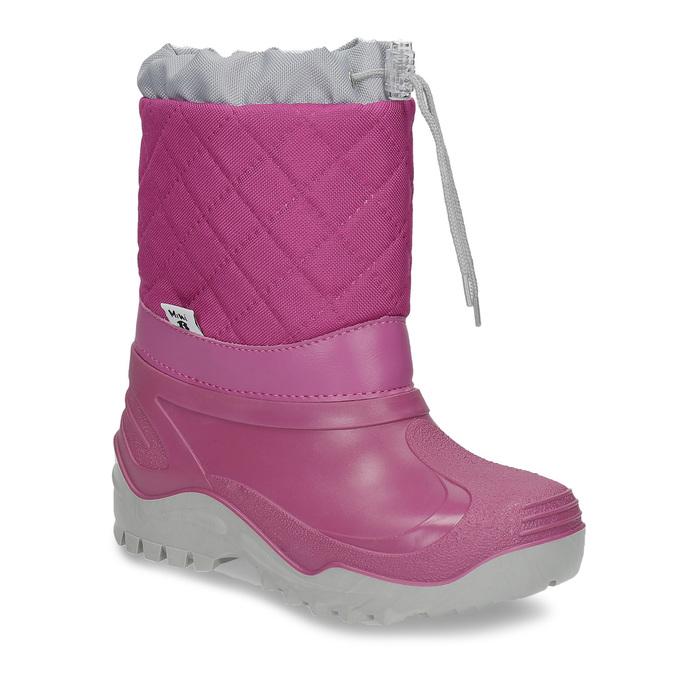 Dievčenské ružové snehule mini-b, 392-5201 - 13