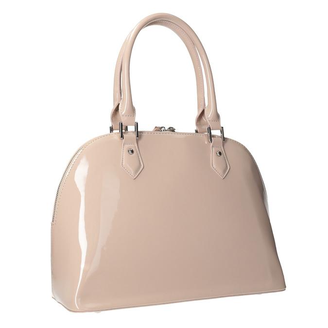 Lakovaná kabelka v elegantnom štýle bata, 961-8849 - 13