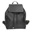 Čierny batoh s pútkom bata, čierna, 961-6858 - 26
