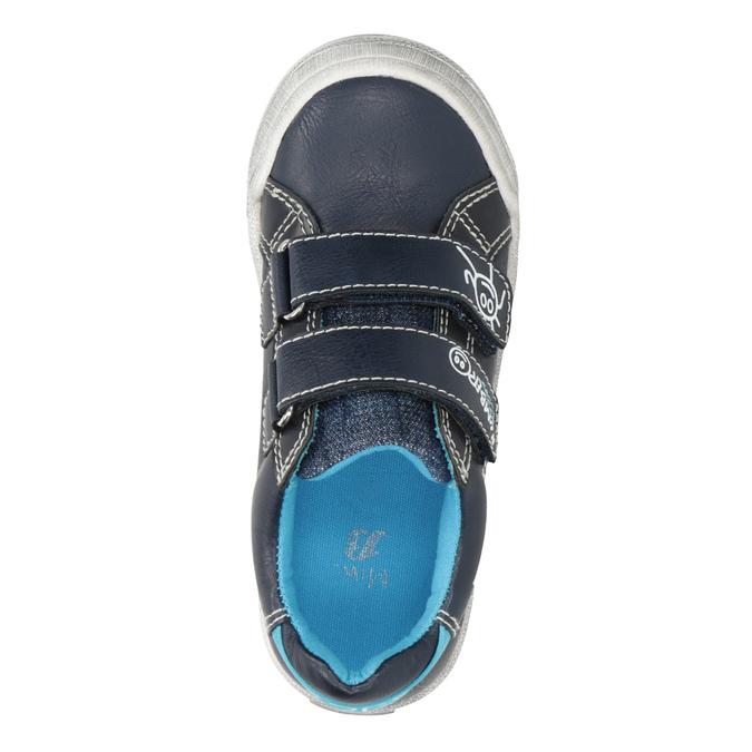 Detské ležérne tenisky mini-b, modrá, 211-9217 - 15