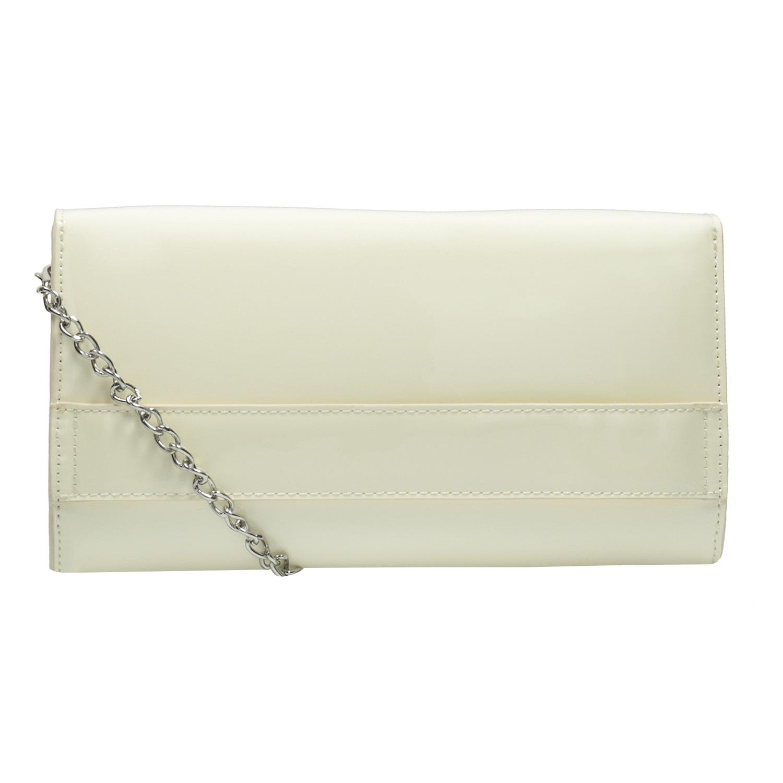 bf5b1b2d4e Bata Lakovaná listová kabelka s retiazkou - Malé kabelky