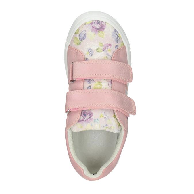 Ružové dievčenské tenisky so vzorom mini-b, 221-5215 - 15