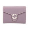 Ružová peňaženka s kovovým detailom bata, ružová, 941-9213 - 26