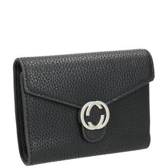 Dámska čierna peňaženka bata, čierna, 941-6213 - 13
