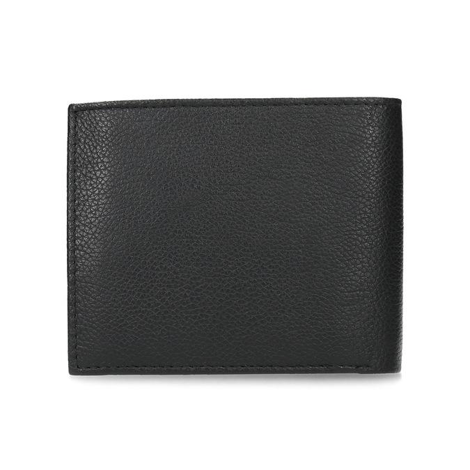 Kožená pánska peňaženka s vrúbkami bata, čierna, 944-6206 - 16