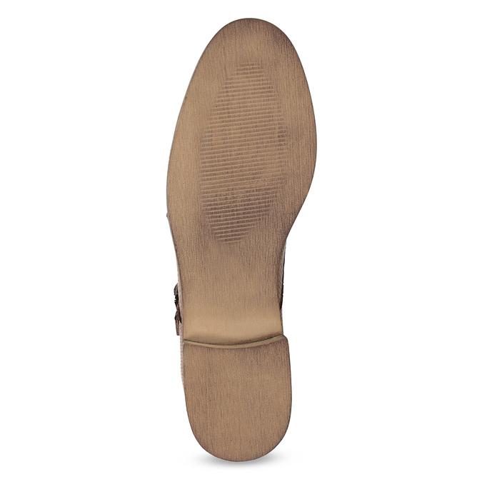 Dámske Monk Shoes bata, hnedá, 521-4609 - 18