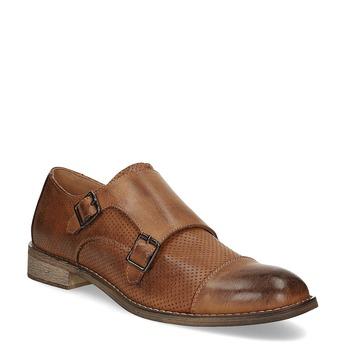 Dámske Monk Shoes bata, hnedá, 521-4609 - 13