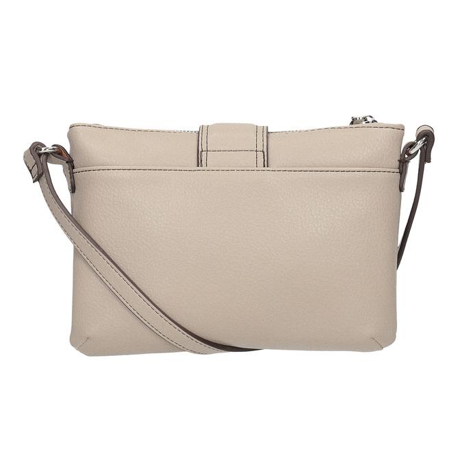 Dámska Crossbody kabelka s prackou bata, šedá, 961-2683 - 16