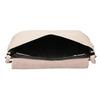 Krémová kožená kabelka bata, ružová, 964-9291 - 15
