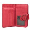 Červená dámska peňaženka bata, červená, 941-5160 - 15