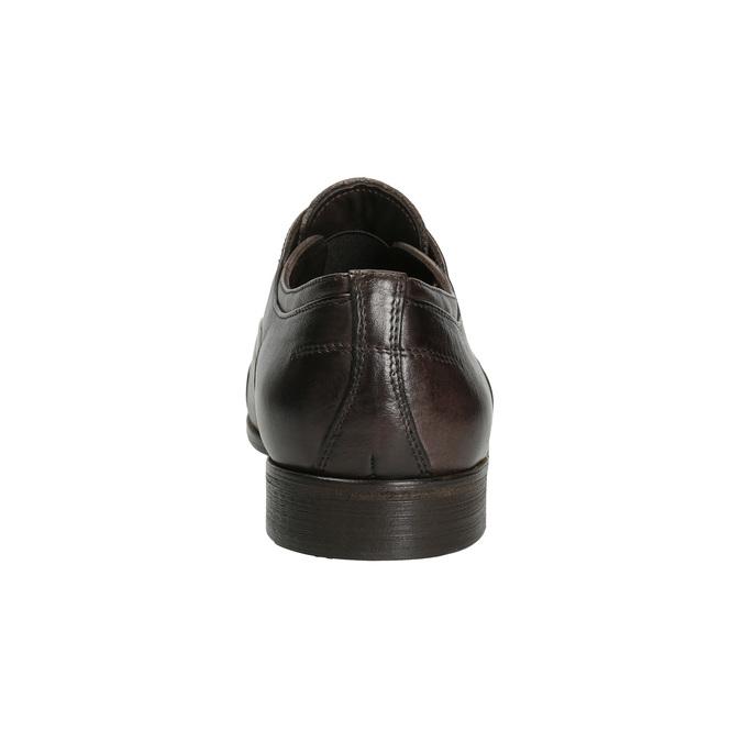 Celokožené Oxford poltopánky bata, hnedá, 826-4826 - 15