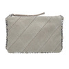 Kožená dámska Crossbody kabelka bata, biela, 963-1193 - 26
