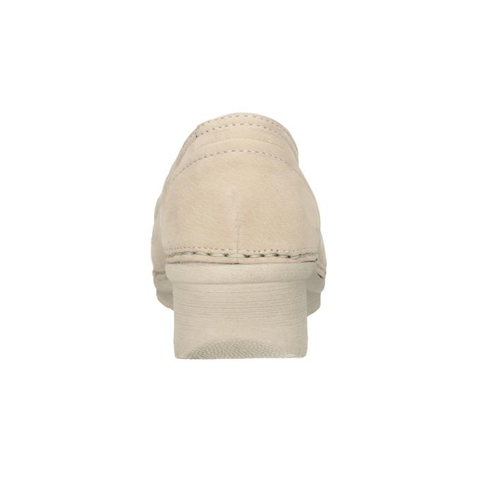 Kožené Slip-on na klinovom podpätku bata, 626-8646 - 16