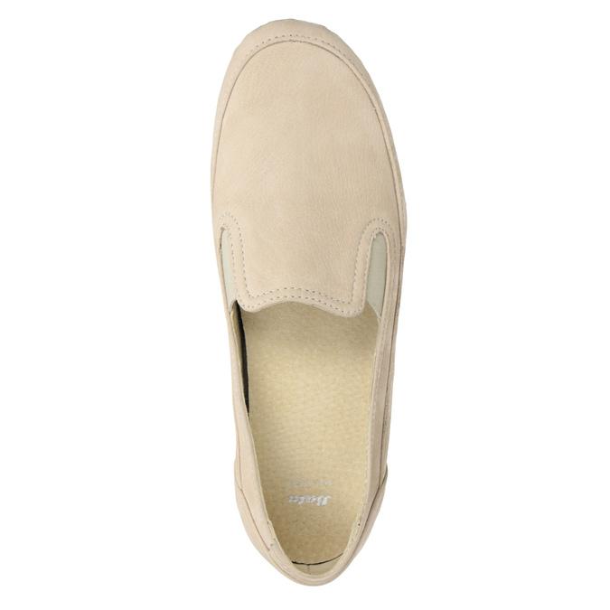 Kožené Slip-on na klinovom podpätku bata, 626-8646 - 15