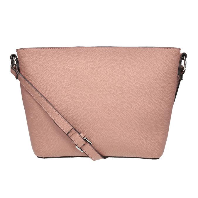 Dámska kabelka s prešívaním bata, ružová, 961-5842 - 16