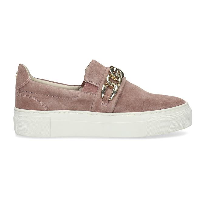 Kožená dámska Slip-on obuv bata, 513-5600 - 19