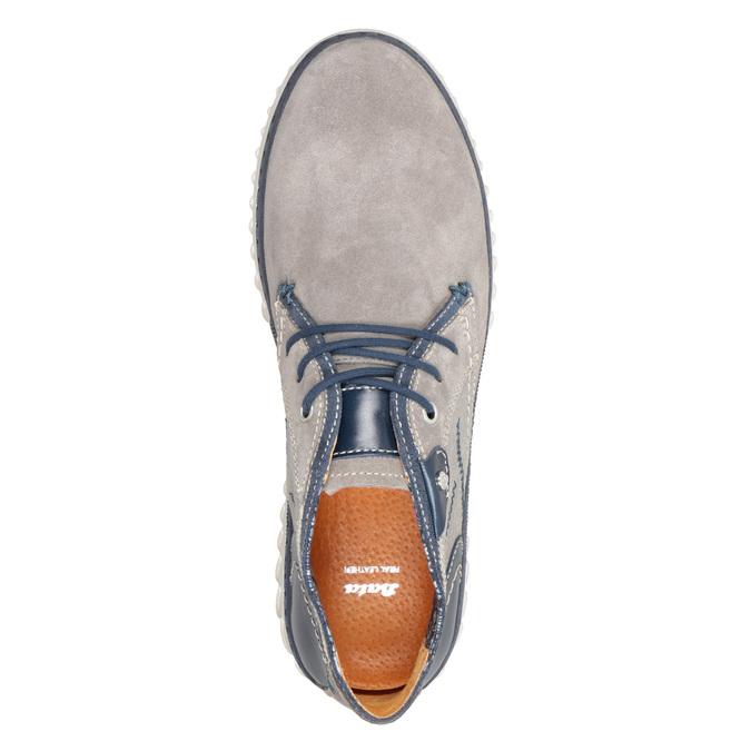 Členková pánska obuv bata, šedá, 843-2633 - 17