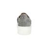 Dámske Slip-on s kovovou prackou bata, šedá, 513-2600 - 15