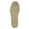 Zlaté dievčenské tenisky s kamienkami mini-b, zlatá, 329-8301 - 18