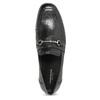 Kožené dámske mokasíny s prackou vagabond, čierna, 514-6099 - 17