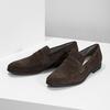 Kožené mokasíny v štýle Penny Loafers vagabond, hnedá, 813-4053 - 16