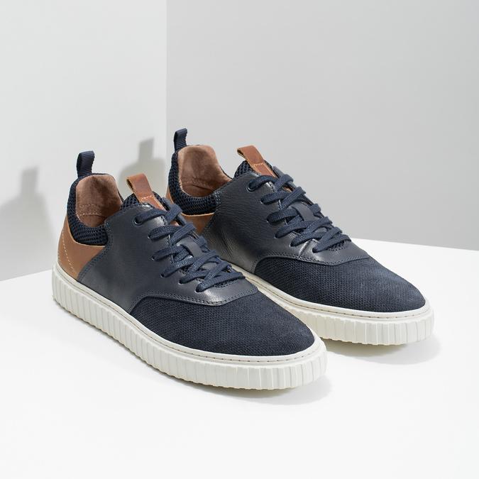 Ležérne kožené tenisky bata, 843-9637 - 26