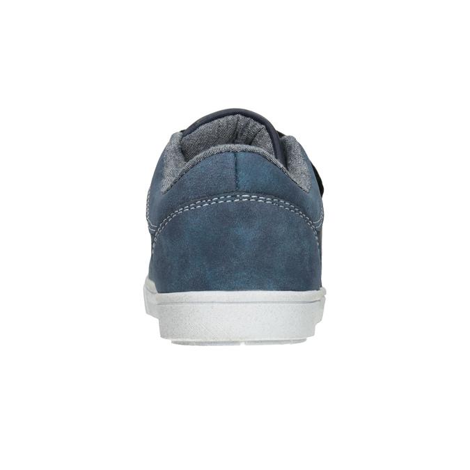 Modré detské tenisky mini-b, 411-9101 - 16