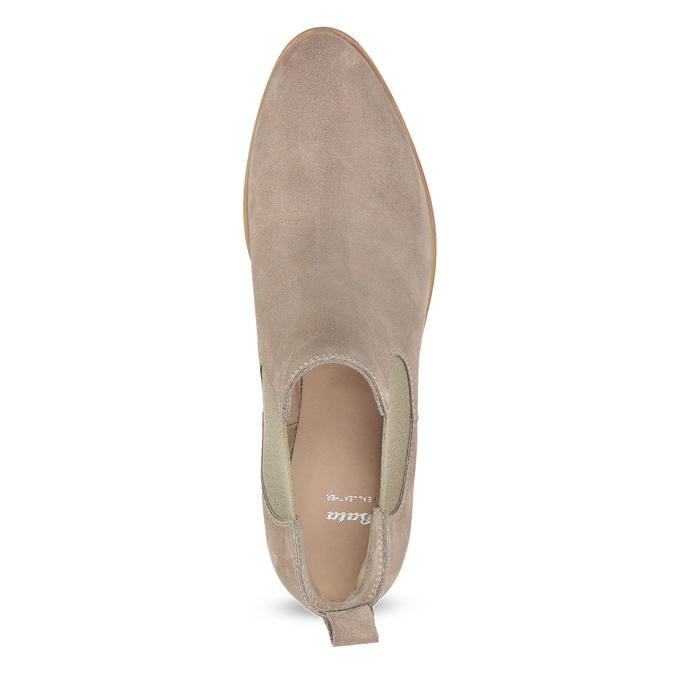 Kožená dámska Chelsea obuv bata, 593-8614 - 17