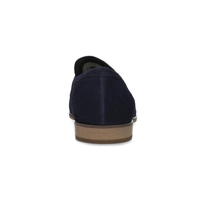 Modré mokasíny v štýle Penny Loafers vagabond, modrá, 813-9053 - 15