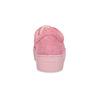 Ružové kožené tenisky na flatforme vagabond, ružová, 623-5050 - 15