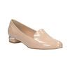 Béžové Loafers na nízkom podpätku bata, béžová, 511-8608 - 13