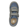 Detské tenisky na suchý zips mini-b, šedá, 411-2101 - 15