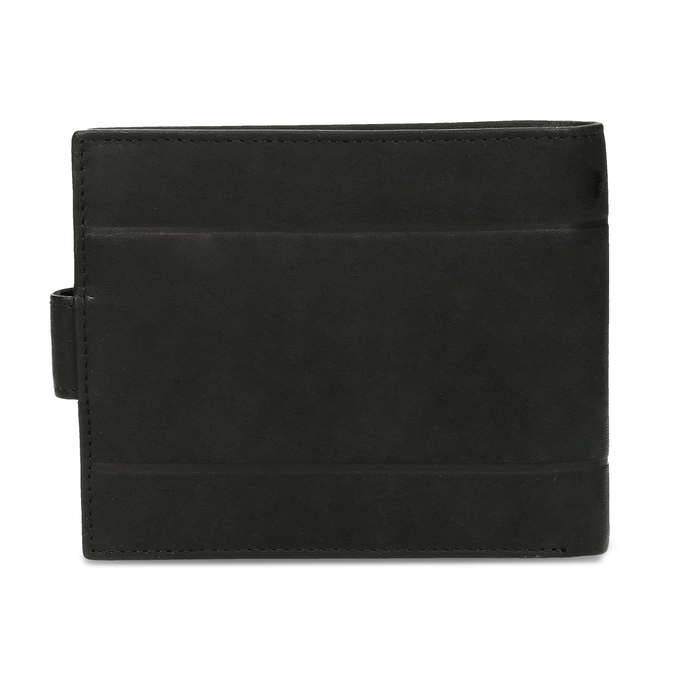 Pánska kožená peňaženka bata, čierna, 944-6210 - 16