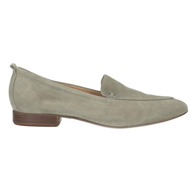 Dámske mokasíny z brúsenej kože bata, béžová, 516-8618 - 16