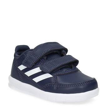 Modré tenisky na suchý zips adidas, modrá, 101-9151 - 13