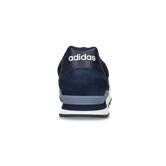 Pánske tenisky z brúsenej kože adidas, modrá, 803-2293 - 15
