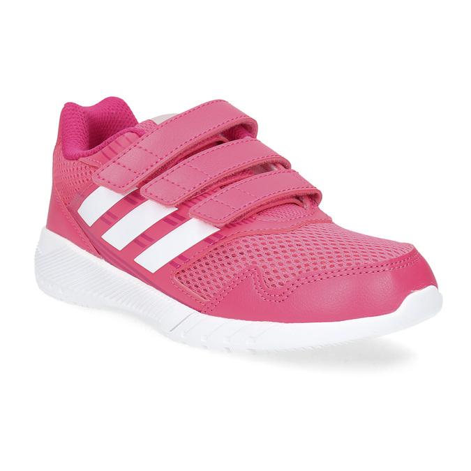 Ružové tenisky na suchý zips adidas, ružová, 309-5148 - 13