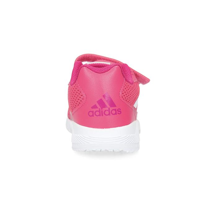 Ružové tenisky na suchý zips adidas, ružová, 309-5148 - 15