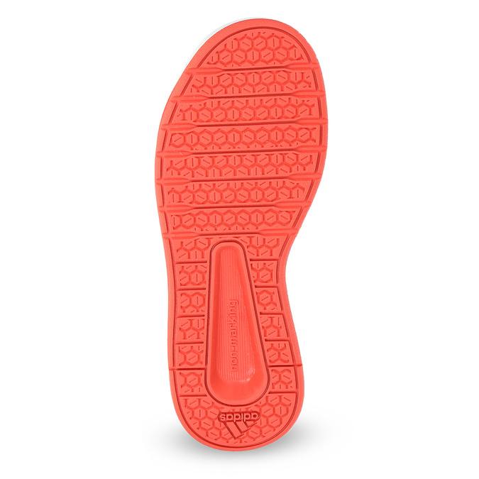 Detské tenisky v lososovej farbe adidas, ružová, 301-5151 - 18