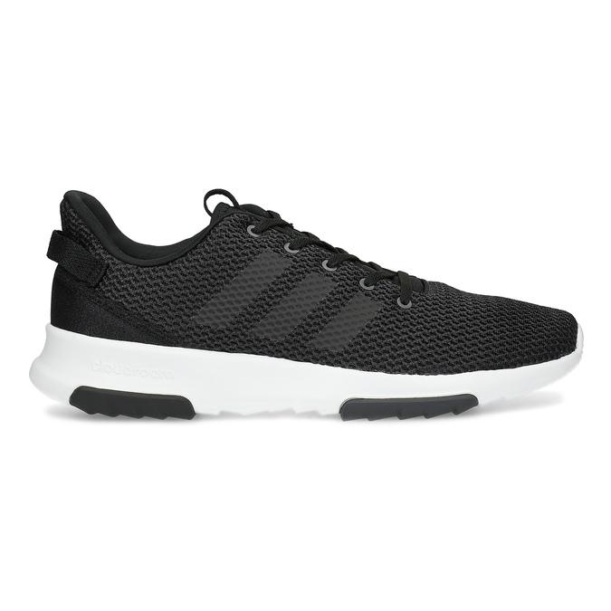 Čierne pánske tenisky v športovom dizajne adidas, čierna, 809-6101 - 19