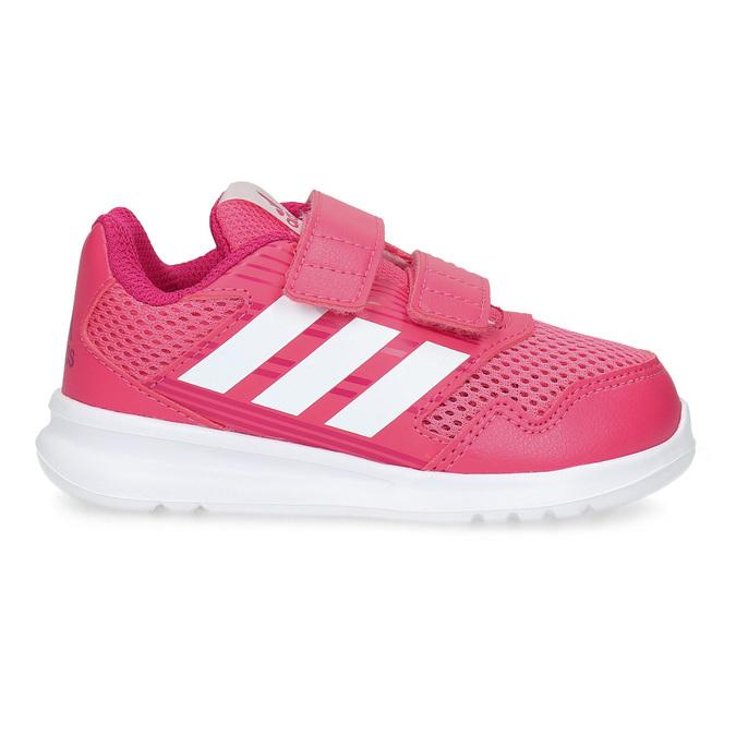 Ružové detské tenisky adidas, ružová, 109-5147 - 19
