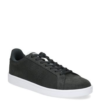 Ležérne tenisky z brúsenej kože adidas, čierna, 803-6394 - 13