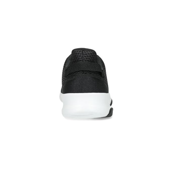 Čierne pánske tenisky v športovom dizajne adidas, čierna, 809-6101 - 15