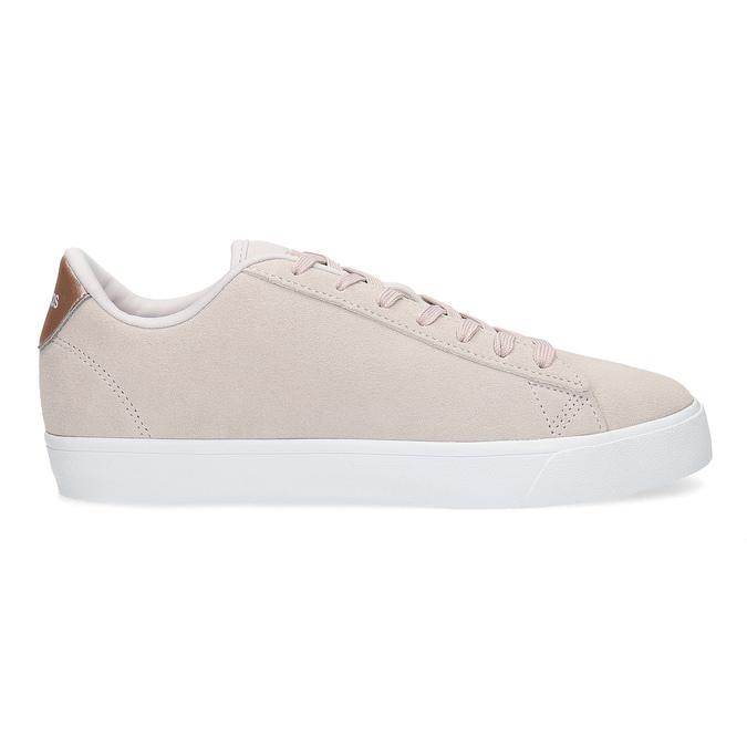 Ružové tenisky z brúsenej kože adidas, ružová, 503-2554 - 19