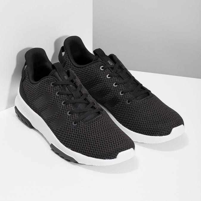 Čierne pánske tenisky v športovom dizajne adidas, čierna, 809-6101 - 26
