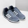 Pánske tenisky z brúsenej kože adidas, modrá, 803-2293 - 26