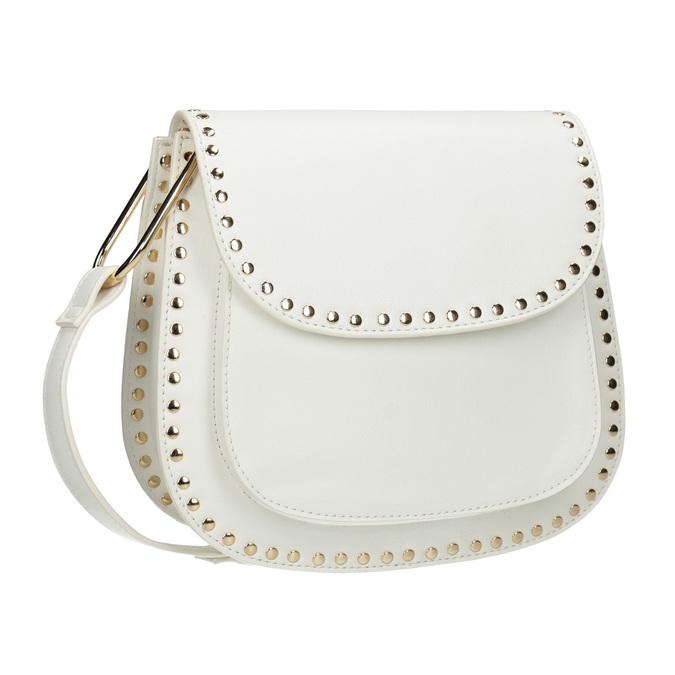 Dámska Crossbody kabelka s cvočkami bata, šedá, 961-2844 - 13