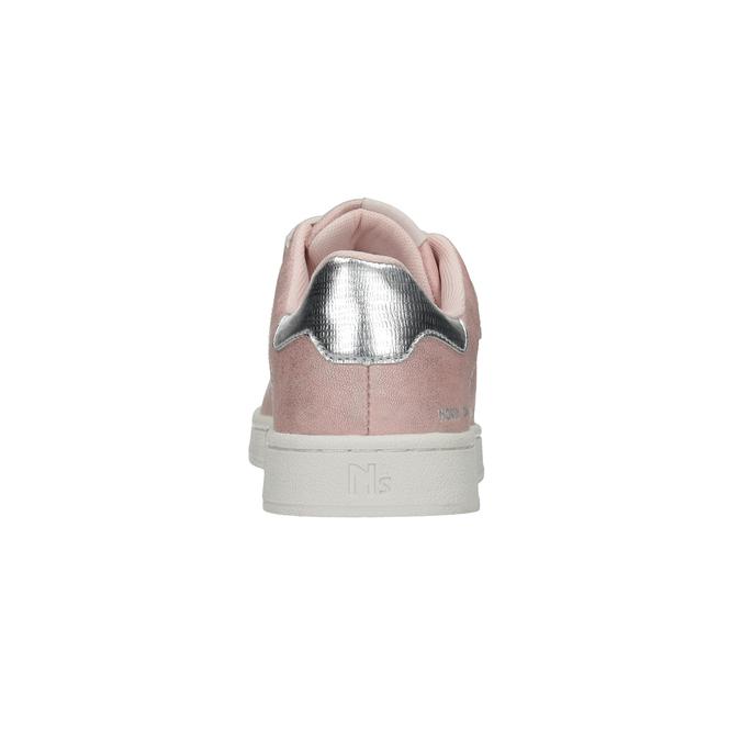 Ružové dámske ležérne tenisky north-star, ružová, 549-5604 - 15