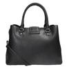 Čierna kabelka s odnímateľným popruhom bata, čierna, 961-6216 - 16